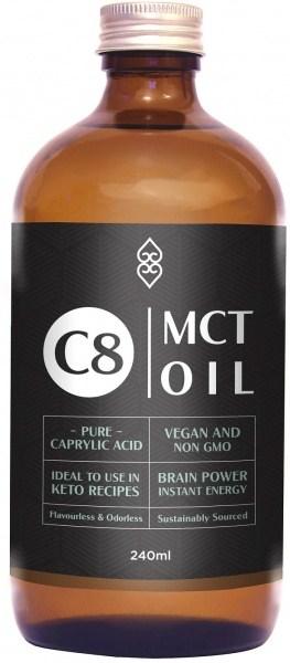 Coconut Magic C8 MCT Oil 240ml