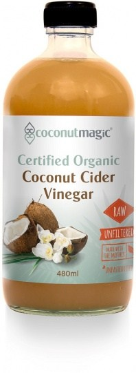 Coconut Magic Organic Coconut Cider Vinegar with The Mother  480ml
