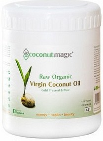 Coconut Magic Organic Virgin Coconut Oil 1.5L container