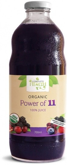 Complete Health Organic Power of 11 100% Juice 700ml