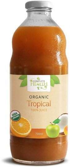 Complete Health Organic Tropical 100% Juice 700ml