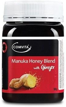 Comvita Manuka Honey Blend with Ginger G/F 500g NOV22