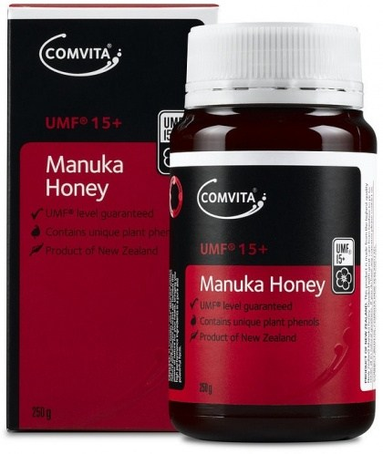 Comvita UMF 15+ Manuka Honey G/F 250g DEC19