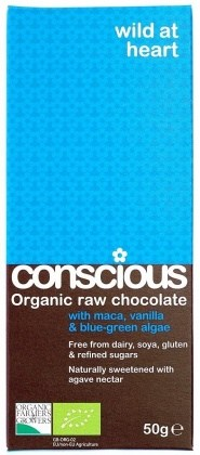 Conscious Organic Raw Chocolate Wild at Heart 50gm