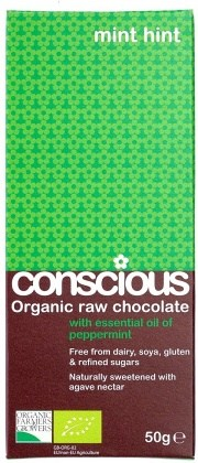 Conscious Organic Raw Mint Hint  50gm