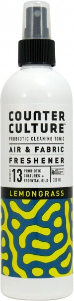 Counter Culture Probiotic Air + Fabric Freshener Lemongrass 300ml