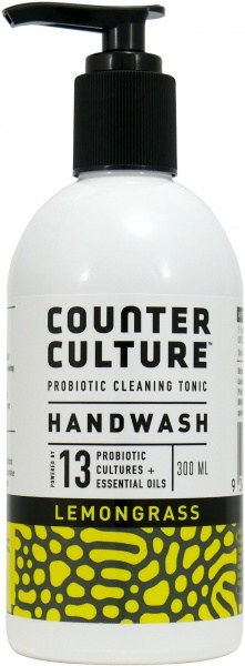 Counter Culture Probiotic Hand Wash Lemongrass 300ml