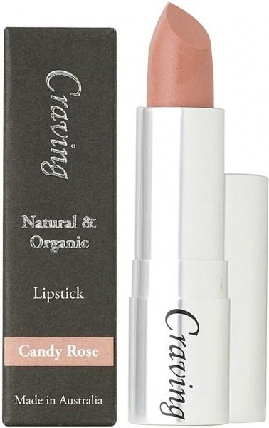 Craving Natural & Organic Candy Rose Lipstick