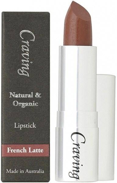 Craving Natural & Organic French Latte Lipstick