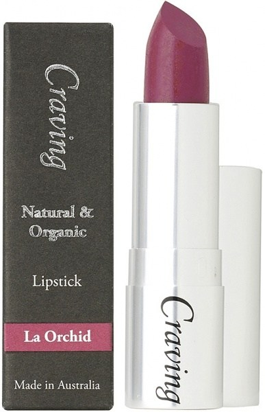 Craving Natural & Organic La Orchid Lipstick