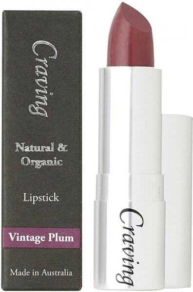 Craving Natural & Organic Vintage Plum Lipstick