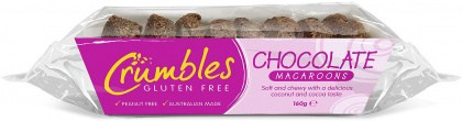 Crumbles Chocolate Macaroons  Tray 160g