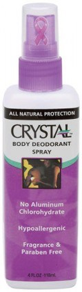 Crystal Deodorant Body Spray 118ml