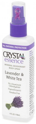 Crystal Essence Deodorant Lavender & White Tea Spray 118ml