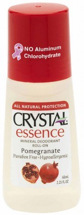 Crystal Essence Deodorant Pomegranate Roll On 66ml
