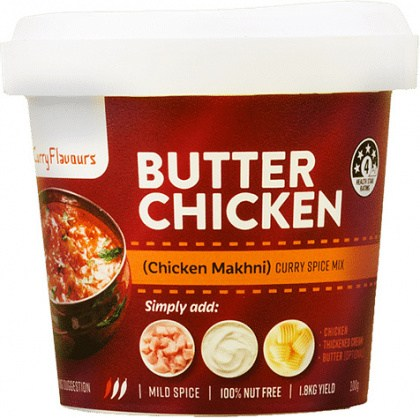 Curry Flavours Butter Chicken Curry Spice Mix Tub 100g