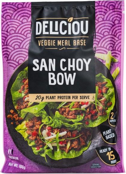Deliciou Veggie Meal Base San Choy Bow 100g