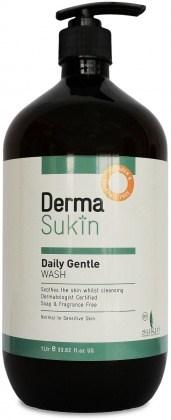 Derma Sukin Daily Gentle Wash Pump 1Ltr