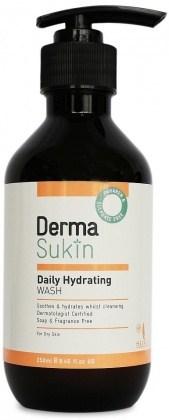 Derma Sukin Daily Hydrating Wash Pump 250ml