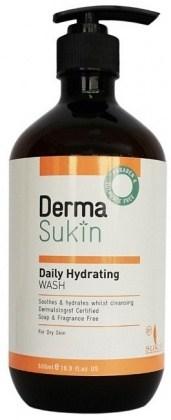Derma Sukin Daily Hydrating Wash Pump 500ml