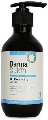 Derma Sukin Oil Balancing Wash Pump 250ml