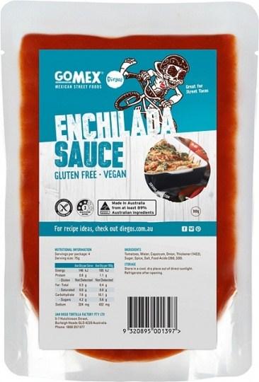 Diego's GoMex Enchilada Sauce  300g