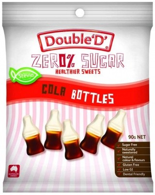 Double D Sugar Free Cola Bottles 90g