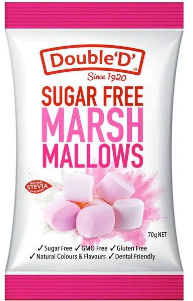 Double D Sugar Free Marshmallows 70g
