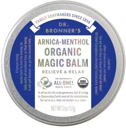 Dr Bronner's Arnica Menthol Organic Magic Balm 57g