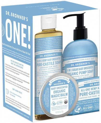 Dr Bronner's Baby Pack