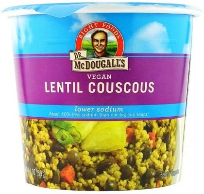 Dr McDougall Light Sodium SoupLentil Cous Cous 62g