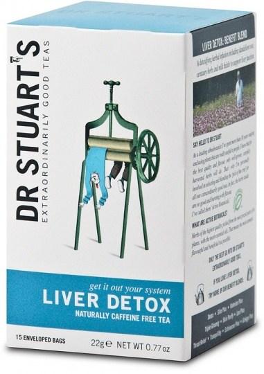 Dr Stuart's Liver Detox Naturally Caffeine Free Tea 15Teabags