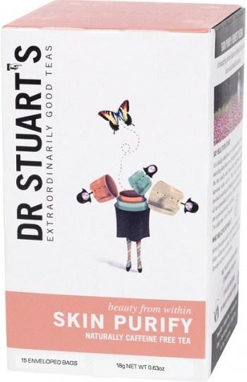 Dr Stuart's Skin Purify Naturally Caffeine Free 15Teabags