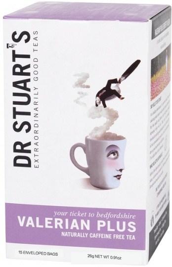 Dr Stuart's Valerian Plus Naturally Caffeine Free 15Teabags