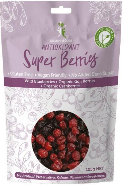 Dr Superfoods Antioxidant Super Berries 125g