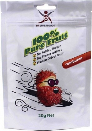 Dr Superfoods Freeze Dried Rambutan Bag  20g