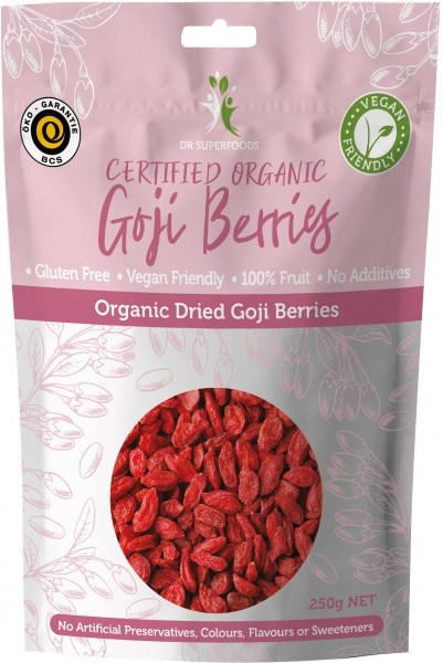 Dr Superfoods Organic Dried Goji Berries 250g