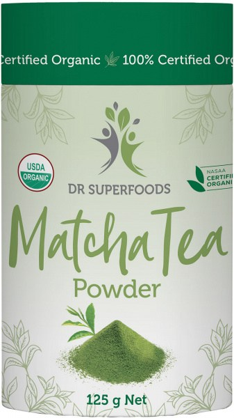Dr Superfoods Organic Matcha Tea Powder 125g