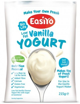 Easiyo Biolife Low Fat Vanilla Yogurt 215g