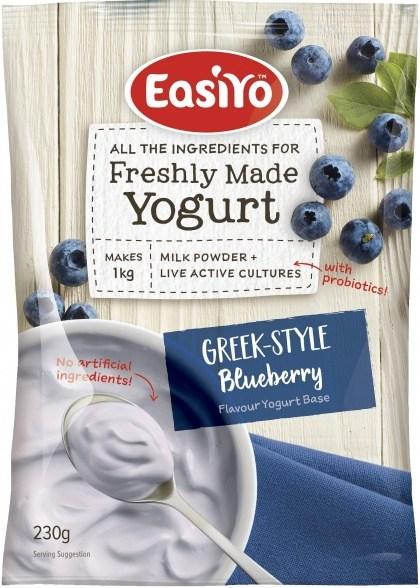 Easiyo Greek Style Blueberry Yogurt 230g