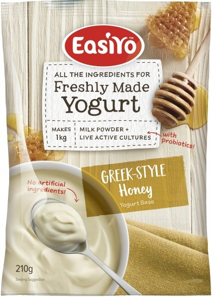 Easiyo Greek Style Honey Yogurt 210g