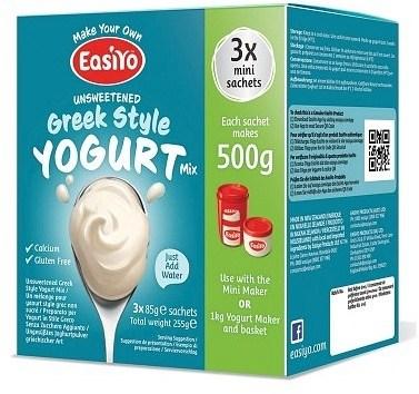Easiyo Greek Style Yogurt Mix (3x85g) 255g