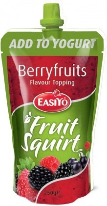 Easiyo Real Fruit Squirt Topping - Berryfruits 250g