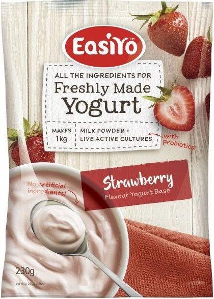 Easiyo Strawberry Yogurt 230g