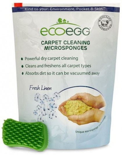 Ecoegg Carpet Cleaning Microsponges Fresh Linen 750g
