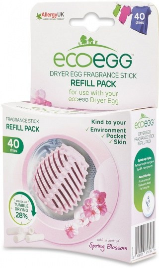 Ecoegg Dryer Egg Fragrance Stick Refill Pack of 4 Spring Blossom