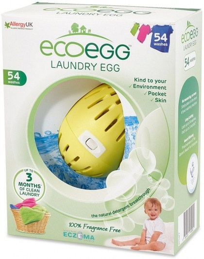 Ecoegg Laundry Egg 54 Washes Fragrance Free