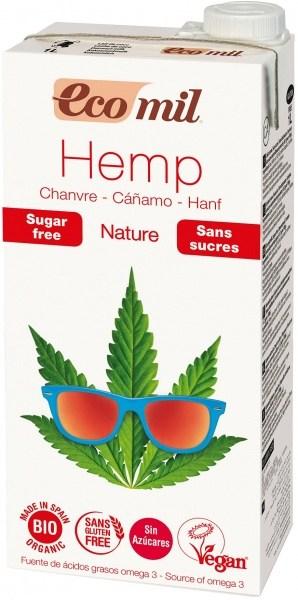 Ecomil Organic Hemp Sugar Free Drink 1L