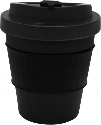 EcoSouLife  All Natural BioSip Coffee Cup Dark Grey 350ml