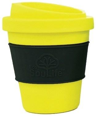 EcoSouLife Bamboo BioSip Cup Citrus 355ml